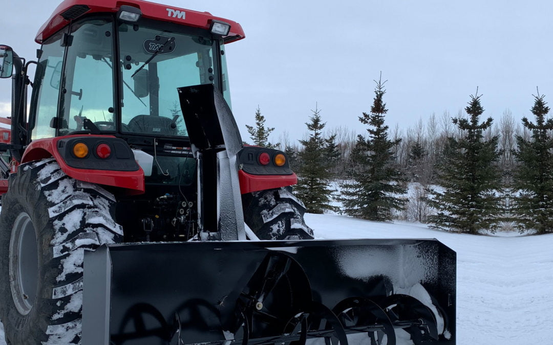 Using Your Tractor As A Snow Blower This Winter